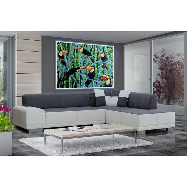 Ramphastos Fantasia Acrylic Painting - Image 4 of 10