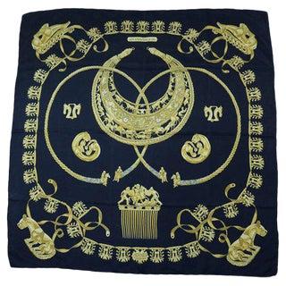 Hermès Cavaliers d'Or Scarf For Sale