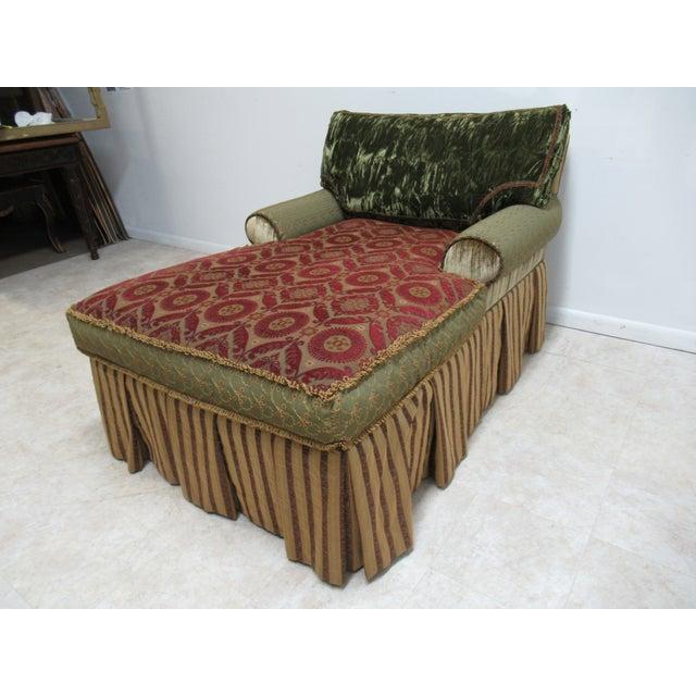 1990s Vintage Ej Victor Carol Hicks Bolton Custom French Sofa For Sale In Philadelphia - Image 6 of 13