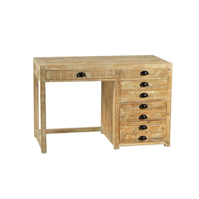 Vintage Wooden Writing Desk - Image 2 of 2