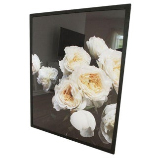 Medium Framed Flower Photograph For Sale