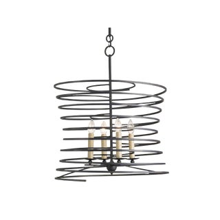 Vortex Wrought Iron Chandelier
