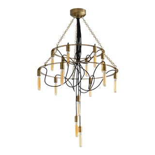 Arteriors Winston 15 Light Chandelier For Sale