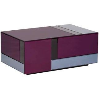 Art Nouveau Contemporary Side Table For Sale