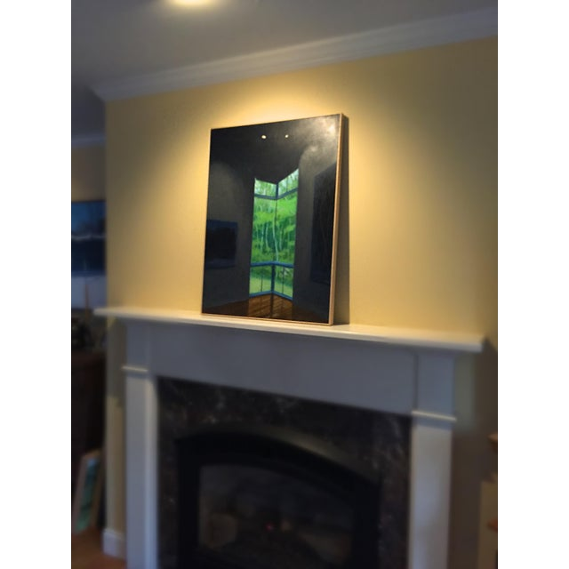 """""""Upstaged"""" Contemporary Painting by Stephen Remick For Sale - Image 9 of 10"""