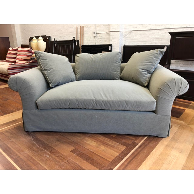 A.Rudin Rolled Arm Lounge Sofa For Sale - Image 13 of 13