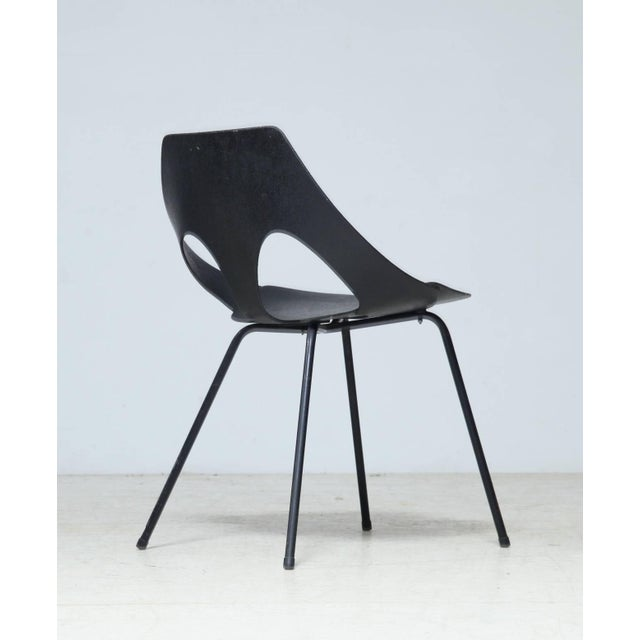 "Rare version of the C3 chair originally designed by Carl Jacobs as the ""Jason Chair"" in 1950. Frank Guille re-designed..."