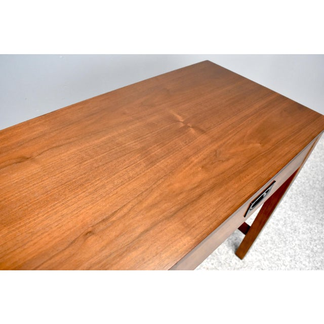 Mid Century Campaign Style Desk by Drexel For Sale - Image 11 of 13