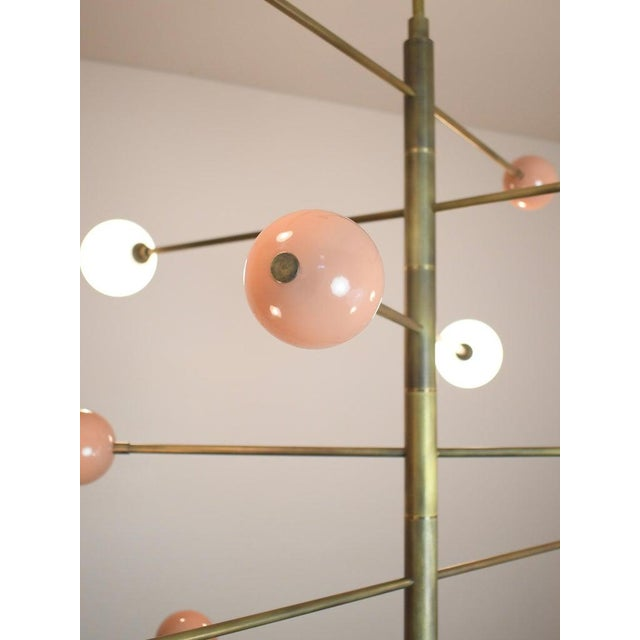 "Blueprint Lighting ""Orbital"" Chandelier by Blueprint Lighting For Sale - Image 4 of 7"