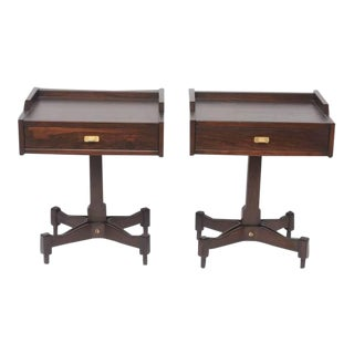 Architectural Pair of Sormani Tables by Claudio Salocchi For Sale