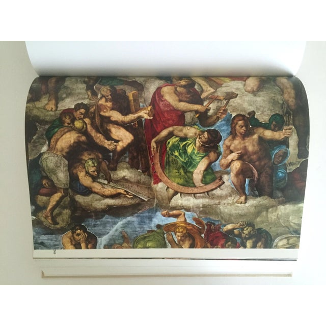"""""""The Complete Work of Michelangelo """" Slip Case Box Monumental Xtra Large Collector Vintage 1965 1st Edtn Book For Sale - Image 5 of 11"""