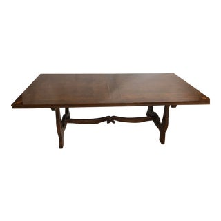 18th Century Reproduction Italian Refectory Table For Sale