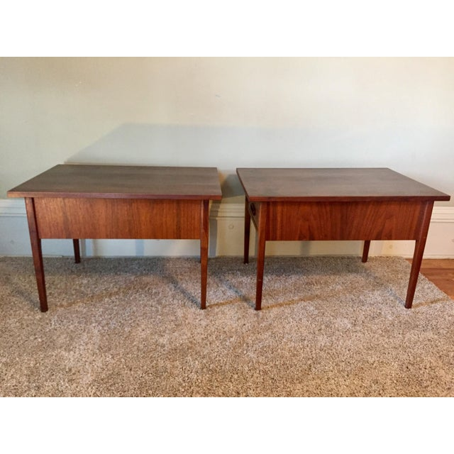 Founders Furniture Company Jack Cartwright End Tables for Founders - A Pair For Sale - Image 4 of 11