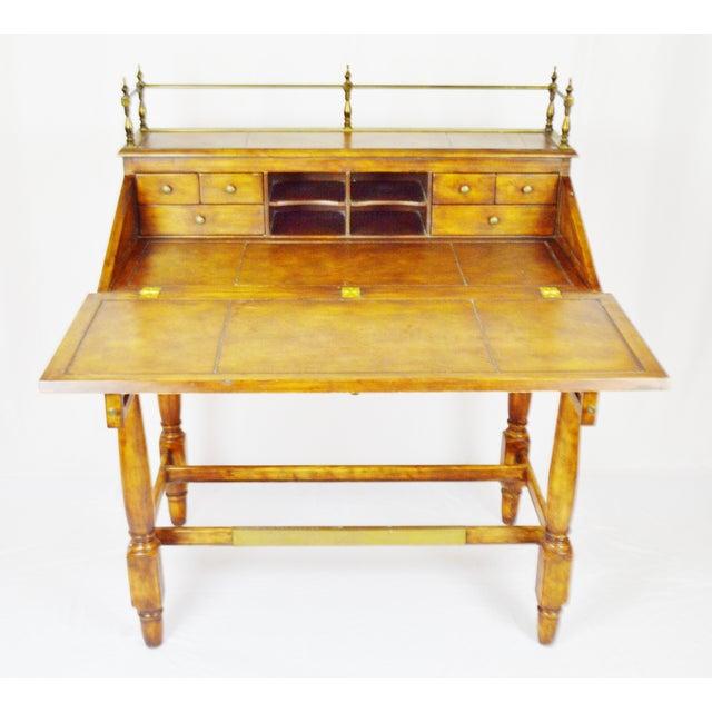 Thomasville Vintage Thomasville Ernest Hemingway Desk & Chair Set For Sale - Image 4 of 10