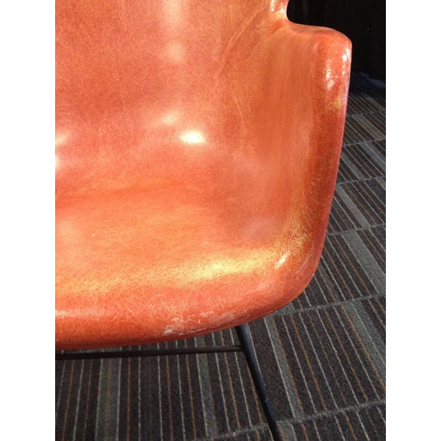 Lawrence Peabody Fiberglass Shell Chair For Sale - Image 7 of 8
