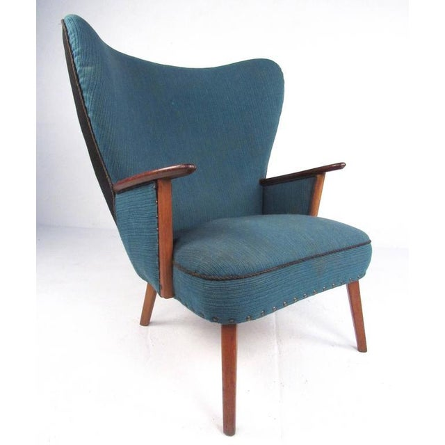 Madsen & Schübel Pragh Wingback Lounge Chair For Sale - Image 9 of 9