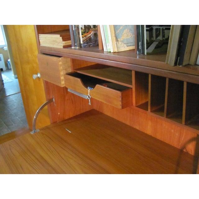 Brown Hans Wegner Double Bay Teak Room Divider by Ry Mobler For Sale - Image 8 of 13