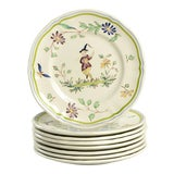 Image of Longchamp Moustiers Appetizer Plate - Set of 8 For Sale