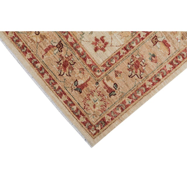 Traditional Pakistani Hand-Knotted Wool Rug - 4′ × 6′ - Image 4 of 4