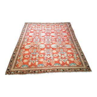 Early 1900s Persian Mahal Sultanabad Rug- 8' × 10′ For Sale
