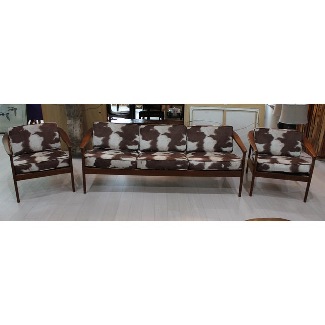 Bodafors Sweden Folke Ohlsson Sofa & Chairs - Set of 3 - Image 2 of 7