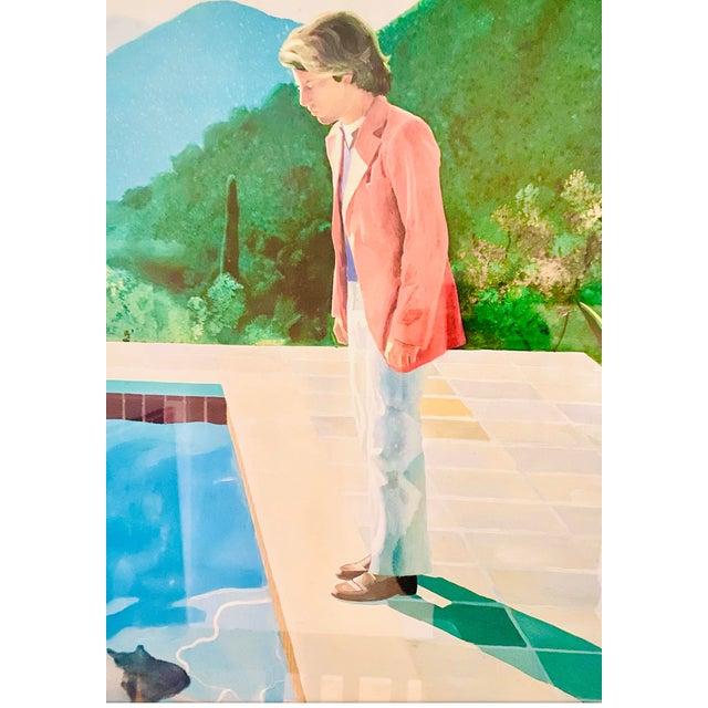 "Blue Original Exhibit Poster ""David Hockney: A Retrospective"" Metropolitan Museum of Art 1988 For Sale - Image 8 of 11"