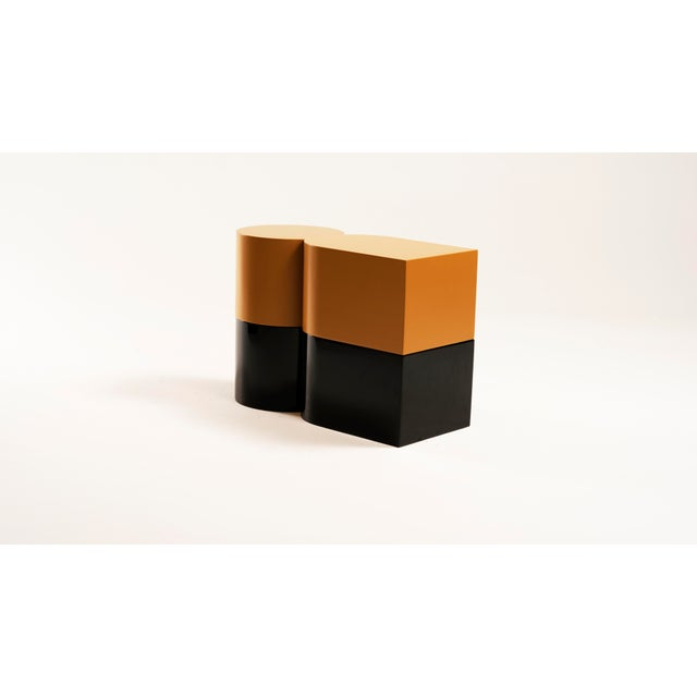 2010s Cadoro Punto Side Tables by Jason Mizrahi For Sale - Image 5 of 5