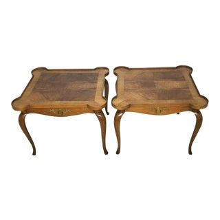 Vintage Mid Century Baker Card Tables - a Pair For Sale