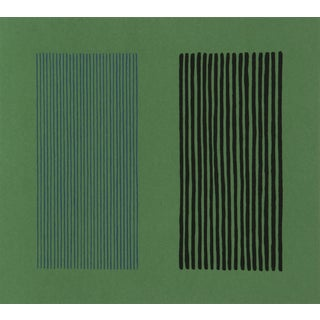 Green Giant, Lithograph by Gene Davis For Sale