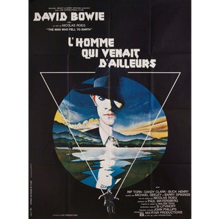 The Man Who Fell to Earth 1976 French Grande Film Poster For Sale