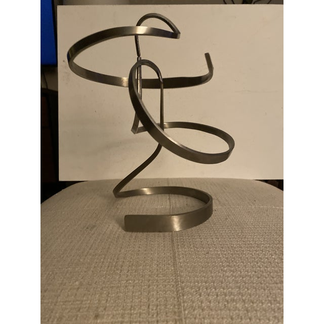 Metal 1991 Michael Cutler Mobile Kinetic Sculpture For Sale - Image 7 of 12