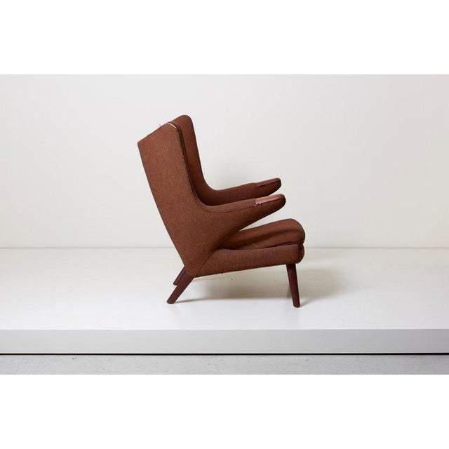 Mid-Century Modern Hans J. Wegner Papa Bear Chair For Sale - Image 3 of 12