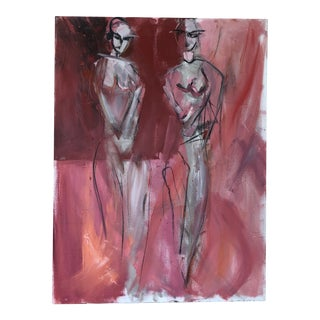 """JJ Justice """"Double Js"""" Contemporary Painting For Sale"""