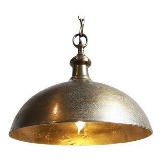 Vintage Solid Brass Bell Lamp