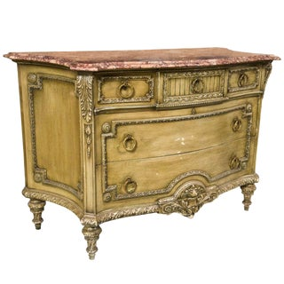 French Louis XVI Style Painted Commode For Sale