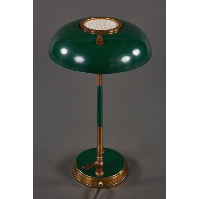 Mid-Century Modern Stunning Oscar Torlasco Table Lamp for Lumi For Sale - Image 3 of 11