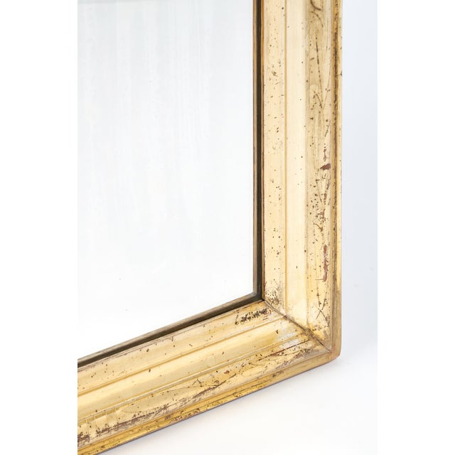 19th Century Antique French Gold Leaf Mirror For Sale In Austin - Image 6 of 10