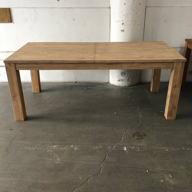 Contemporary N.P.D. Bedford Butterfly Dining Table in Brushed Smoke For Sale - Image 3 of 9