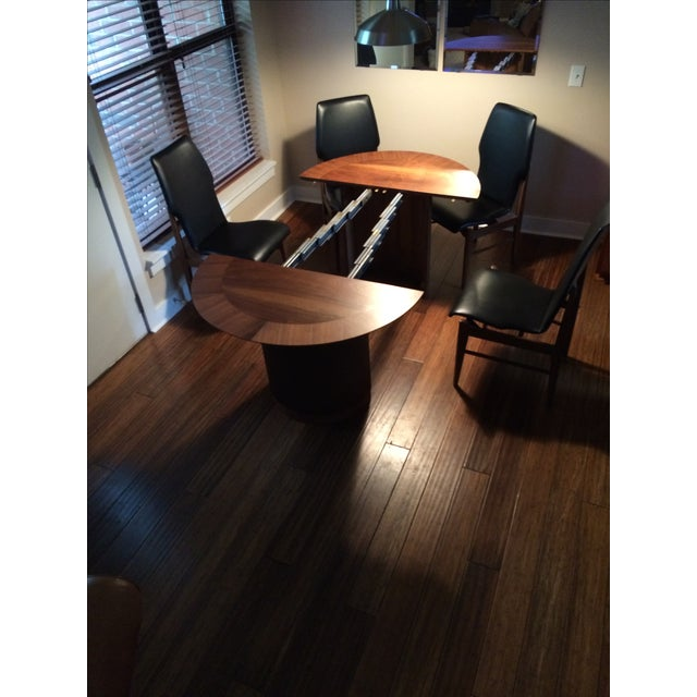 Mid Century Table & Chairs Dining Set - Image 8 of 11