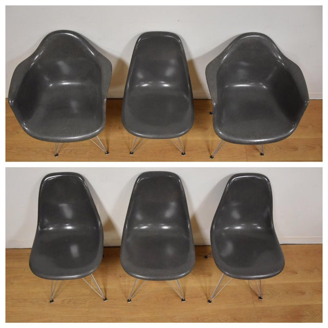 Eames for Herman Miller Dining Chairs - Set of 6 - Image 3 of 11