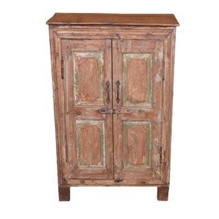 Rustic Xarles Wood Cabinet