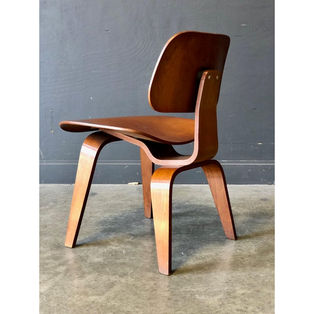 Brown Eames for Herman Miller Occasional Chair For Sale - Image 8 of 11
