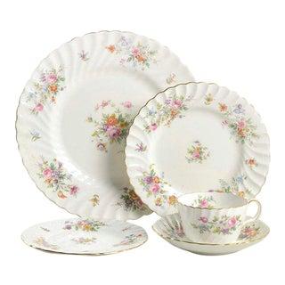 Minton Marlow Bone China Dinnerware - 30 Piece Set For Sale