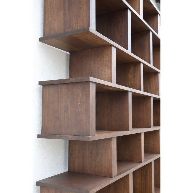 "DESIGN FRERES Contemporary Design Frères Tall ""Verticale"" Shelving Unit For Sale - Image 4 of 10"