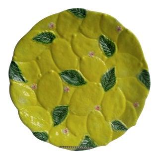 Vintage Italian Lemon Platter