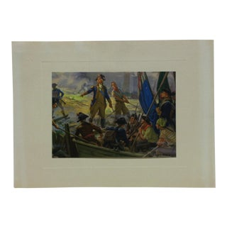 """Mounted Color Print, """"Retreat to Victory"""" - Circa 1950 For Sale"""