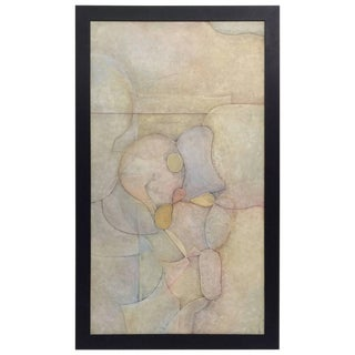 Michael Dormer Layered Abstract Painting For Sale