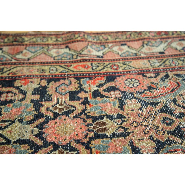 "Antique Hamadan Rug Runner - 4' X 8'10"" - Image 7 of 10"