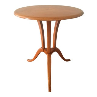 Vintage French Art Deco Gueridon Style Accent Table For Sale
