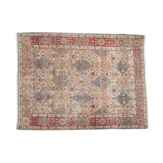 "Vintage Distressed Kerman Carpet - 6'10"" x 9'4"""